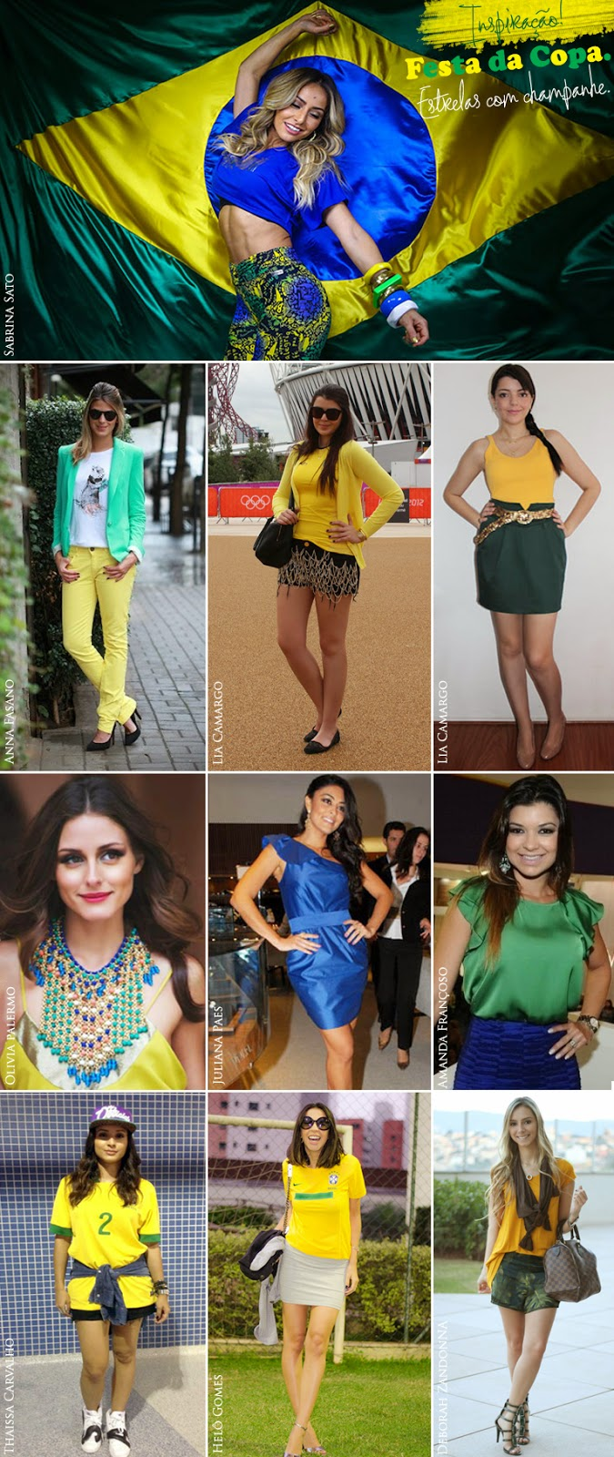 look, copa do mundo, brasil, moda, fashion, style