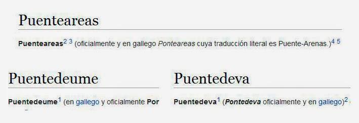 Topónimos en la Wikipedia