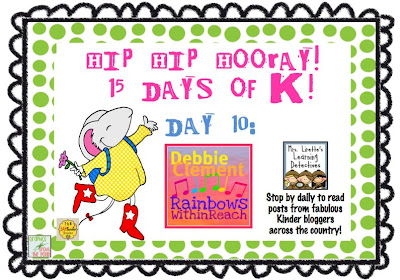 photo of: 15 Days of K (kindergarten) Blog Articles