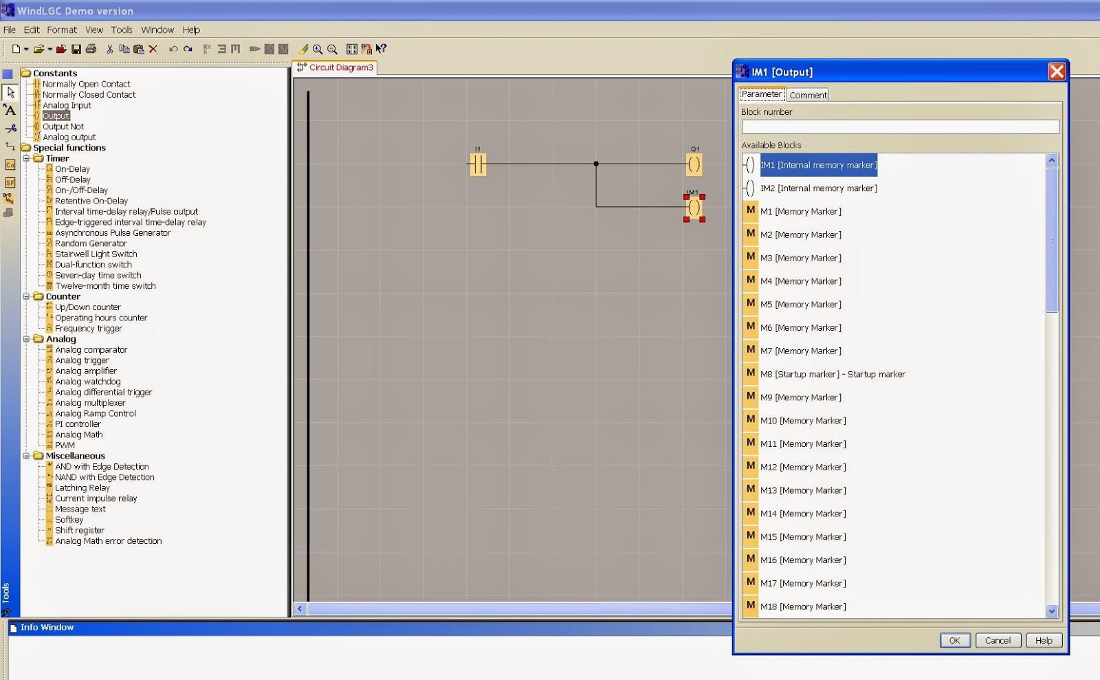 Take A Look At Windlgc Programming Software Ladder Logic Diagram Xor Image 6 Internal Memory Marker Output