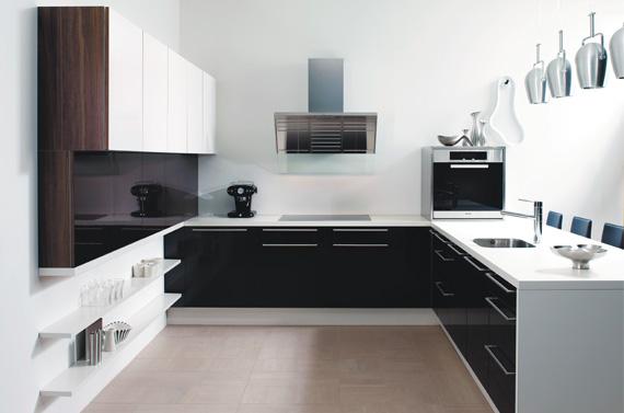 Home Sweet Home Biało czarna kuchnia -> Kuchnia Bialo Czarna Brazowa