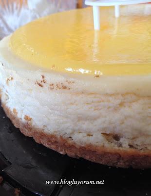 Kek's Bakery Tadıtam Limonlu Cheesecake 4