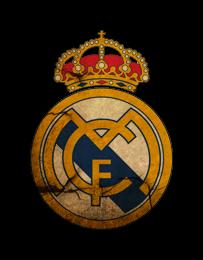 La franja morada del escudo del Real Madrid CF - El fútbol
