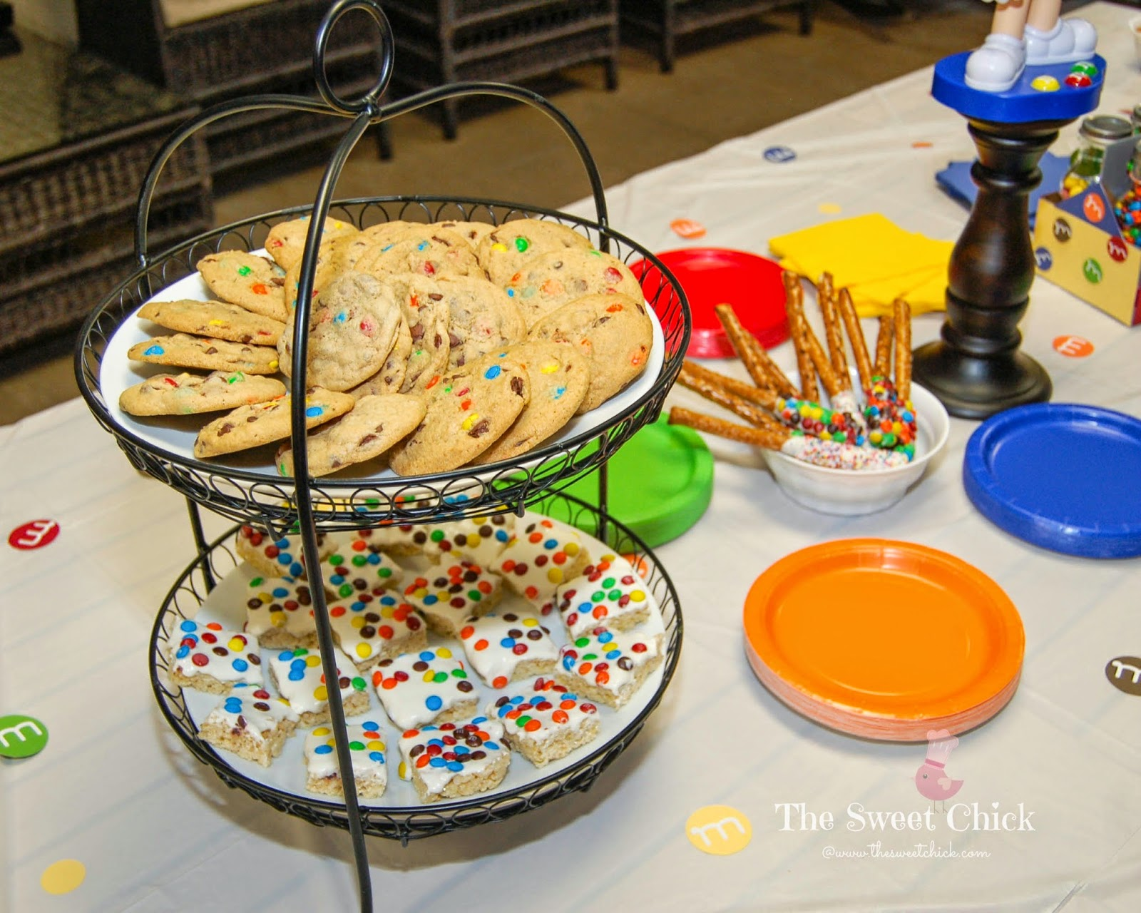 M&M Party Treats by The Sweet Chick