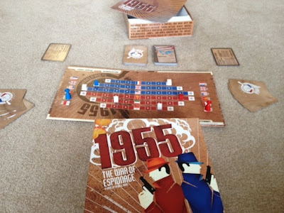 1955 War of Espionage in play