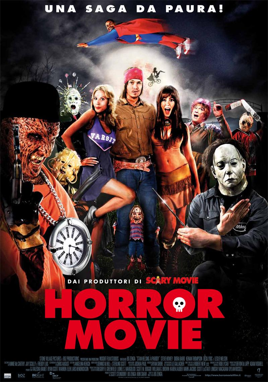 a horror movie: