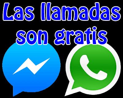 Ni Whatsapp ni Facebook te va a cobrar nada por realizar o recibir llamadas.