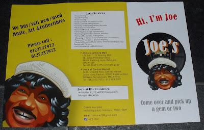 madrotter-treasure-hunt: JOE'S RECORD STORE IN KUALA LUMPUR