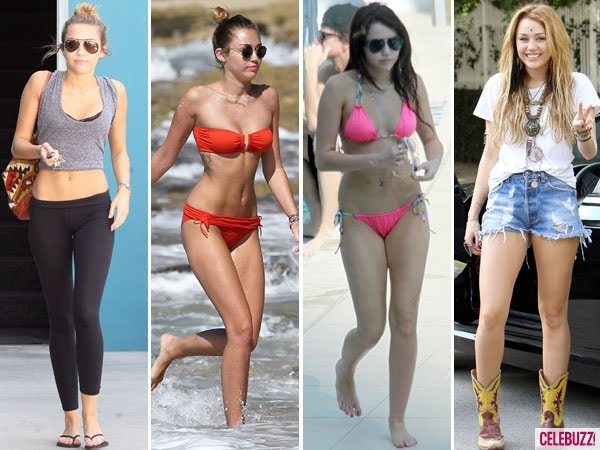 Some People Are Accusing Miley Of Being Anorexic She Claims Just Has A Food Allergy What Do You Think