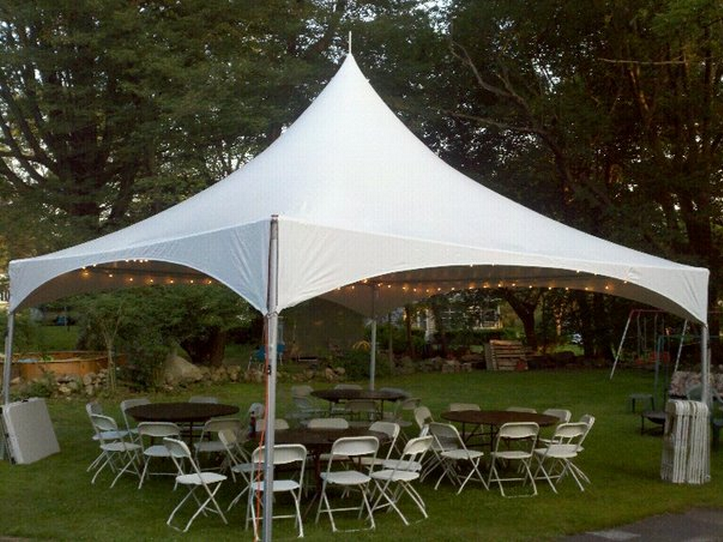 Tent Rental Package For 40 Guests & Newton Tents- Tent Rental Photos/Blog