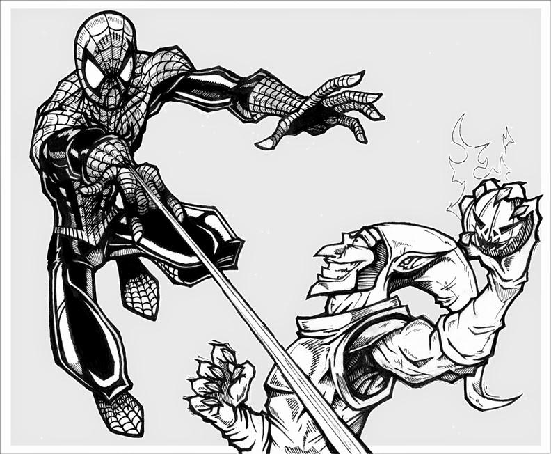 Coloriage spiderman en ligne gratuit liberate - Coloriage spiderman en ligne ...
