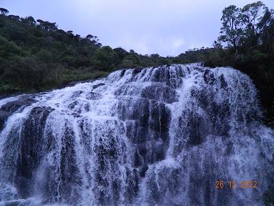 Baker's Falls Horton Plains Nuwara Eliya-world heritage Site