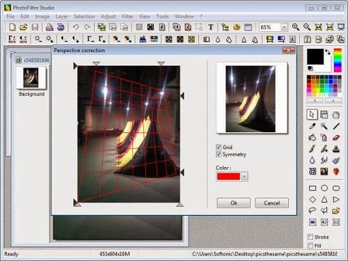 برنامج مجاني إحترافي لتحرير وفلترة وتحسين الصور PhotoFiltre Studio 7.1.2