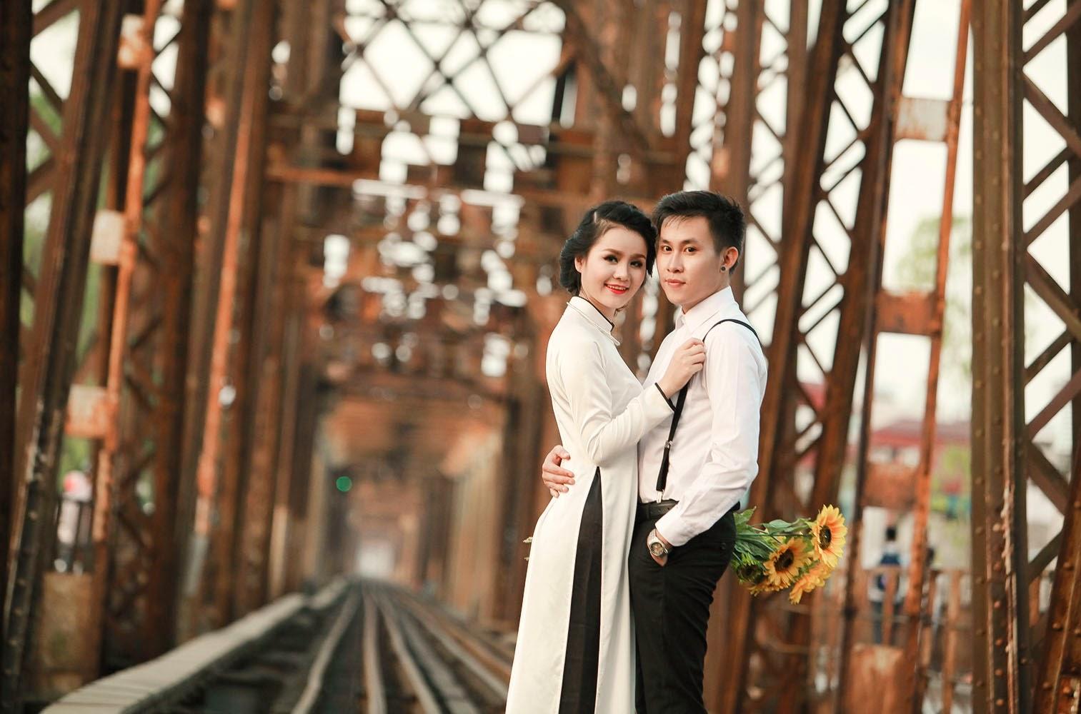 chụp ảnh cưới ngoại cảnh đẹp ở Hà nội10