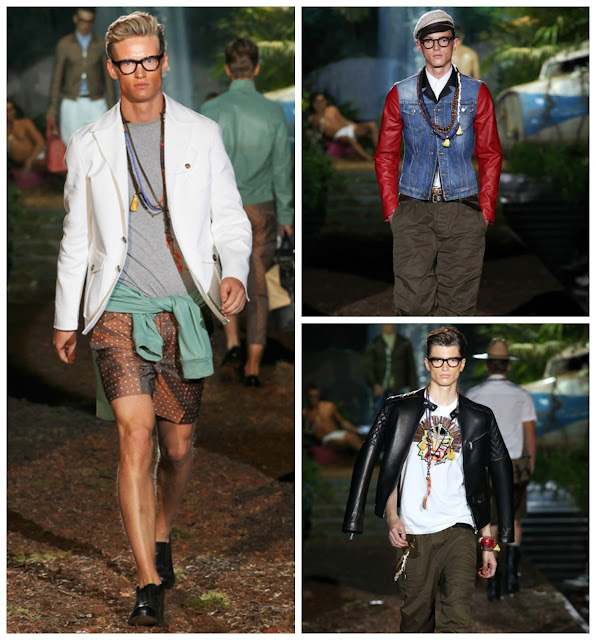 Dsquared2  SS14, Milan Fashion Week