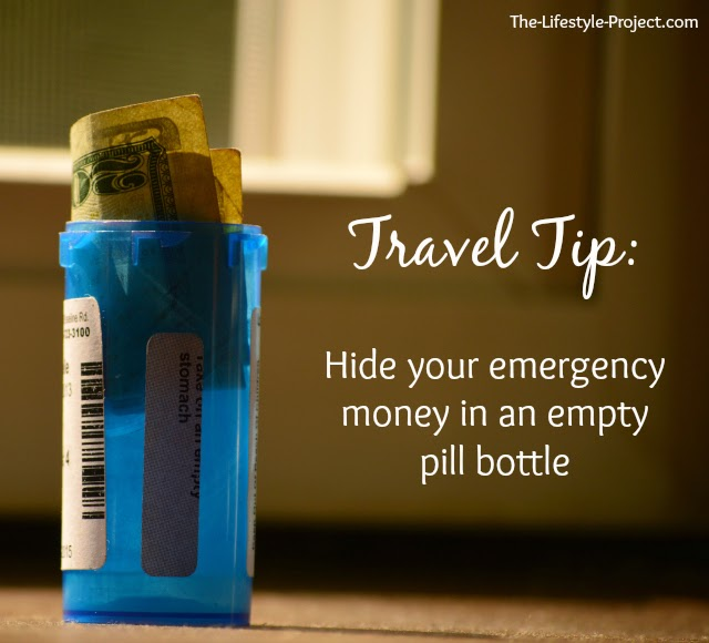 travel tip: hide your emergency money