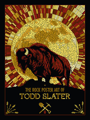 The Rock Poster Art of Todd Slater Hardcover Book by The Flood Gallery