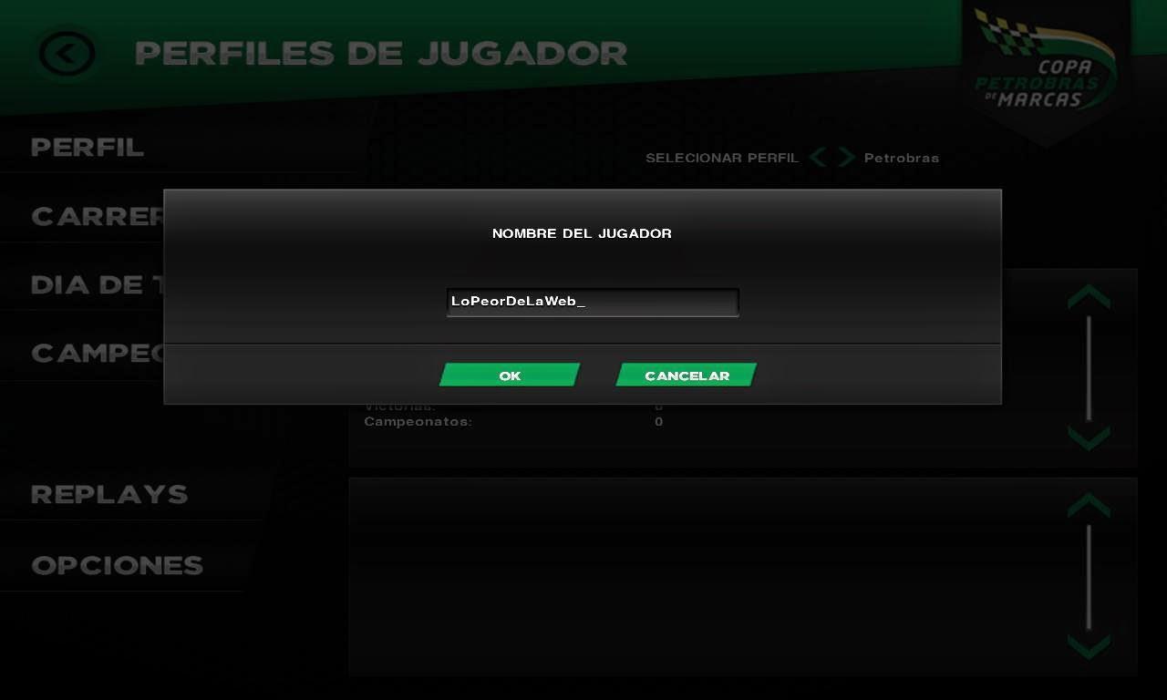 Copa Petrobras de Marcas PC Full Castellano