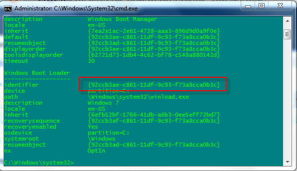 guid-identifier-windows-7-bcdedit