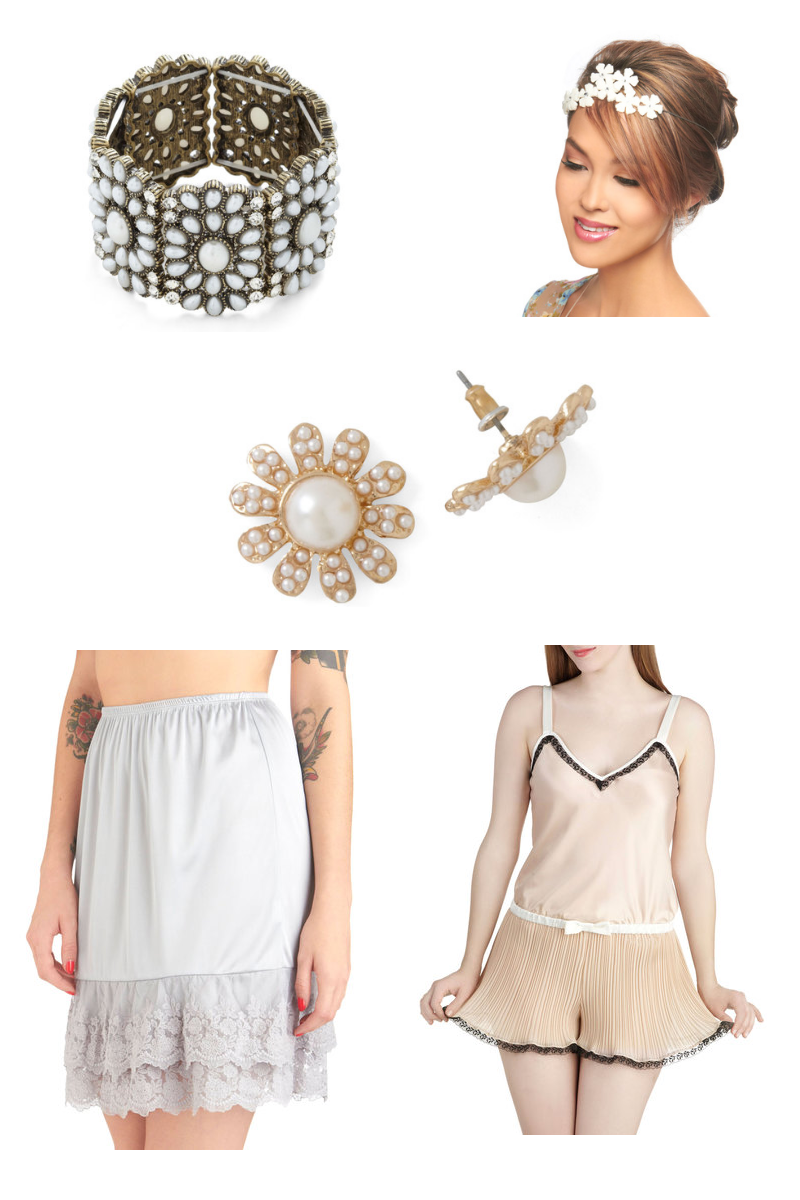 ... Inspired Wedding Attire And Accessories From Modcloth - 800x1200 - png