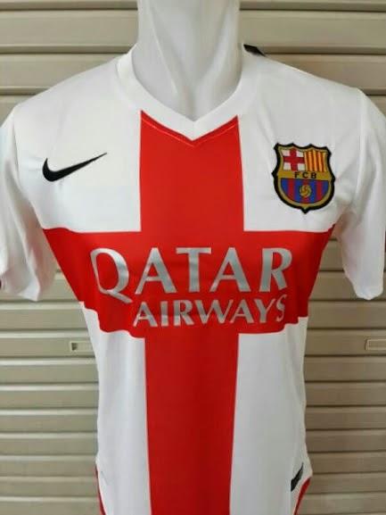 Jersey Barcelona 3rd 2015 Leaked