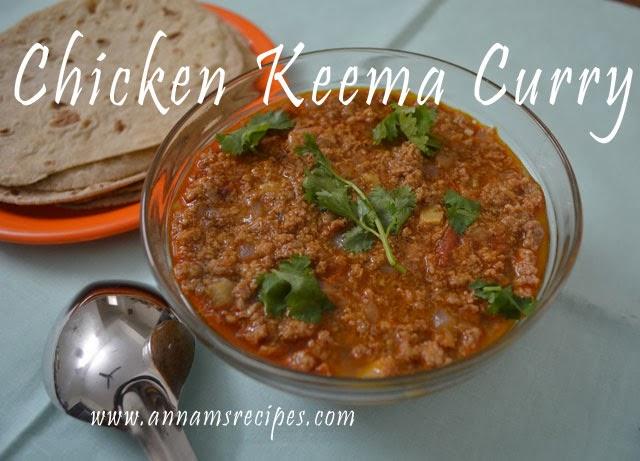 Chicken Kheema Curry