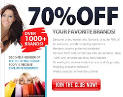 Designer Brand Names And Fashions, At Up To 70% Off