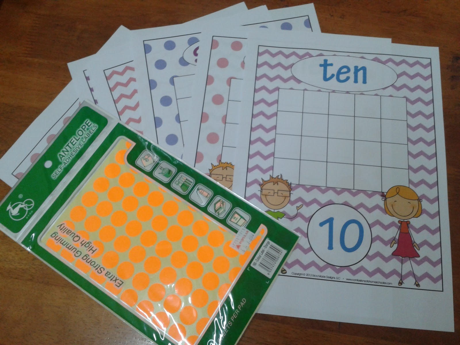 Mama Homeschool: HS Today : Counting & Fine motor skill activities ...