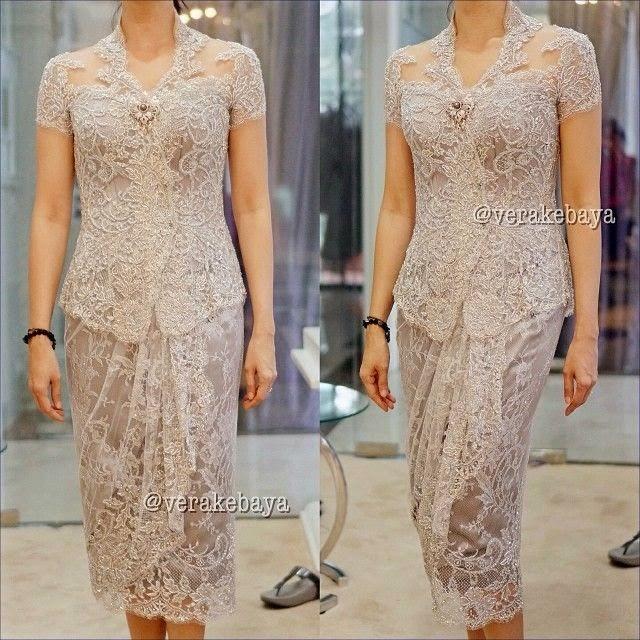 ModelBaju24 Model Baju Kebaya Brokat Muslim