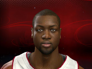 NBA 2K13 Dwyane Wade Cyber Face Mod PC