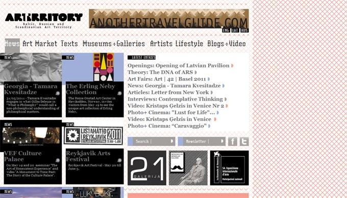 art territory, mākslas, kultūras, portāls