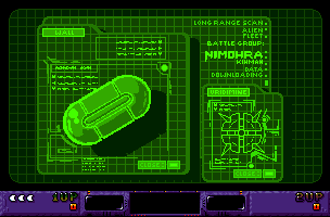 It's even got green monochrome computer screens, I love when these
