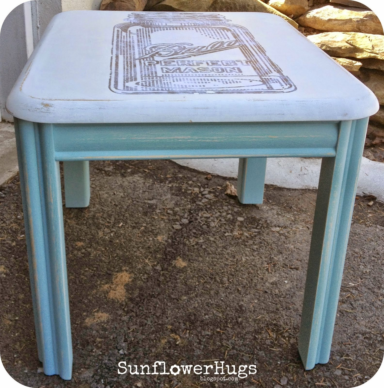 image transfer table makeover