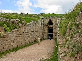 Сокровищница Атрея или гробница Агамемнона,  Микены, Греция