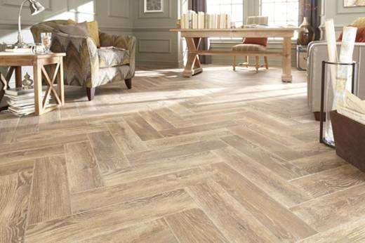 herringbone tile floor designs and options