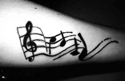 music tattoos designs on Tattoo Designs Music Note Star By Heroic Moose On Notes
