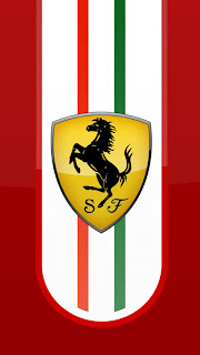 Free Download Ferrari Logo HD Wallpapers for iPhone 5