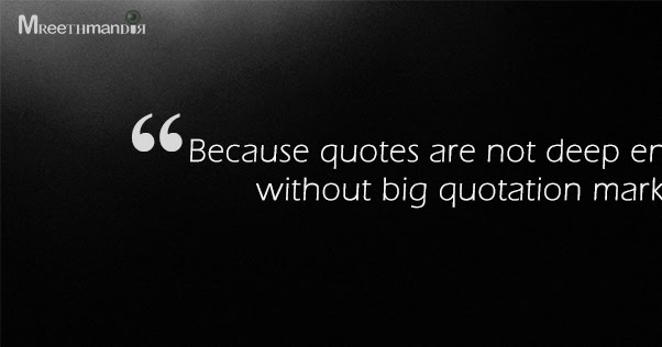 lame tips  photoshop  big quotation marks