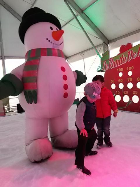 colombia bogota passeio com criança neve