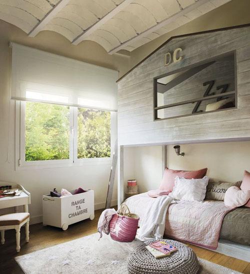Icono interiorismo decoraci n de dormitorio con literas - Interiorismo dormitorios ...