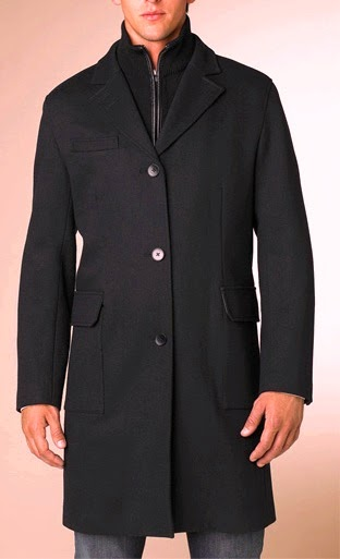 Men overcoat fashion