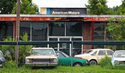 abandoned collier motors the last amc dealership not content yet. Black Bedroom Furniture Sets. Home Design Ideas