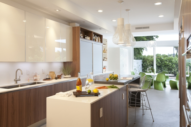 Kitchen in Modern home by DKOR Interiors