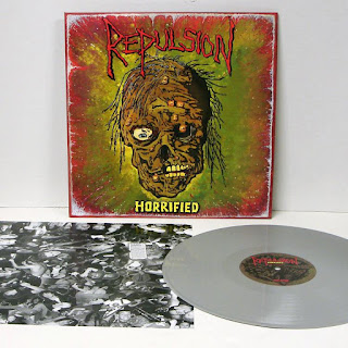 Repulsion - 'Horrified' MDF Grey Vinyl Edition