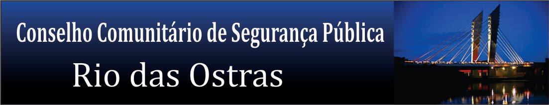 Conselho Comunitário de Segurança Pública de Rio das Ostras