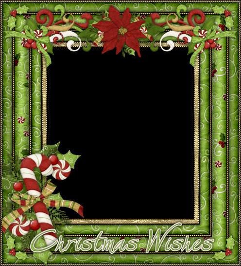 Bellos marcos para fotos o tarjetas para navidad para - Marcos navidad fotos ...