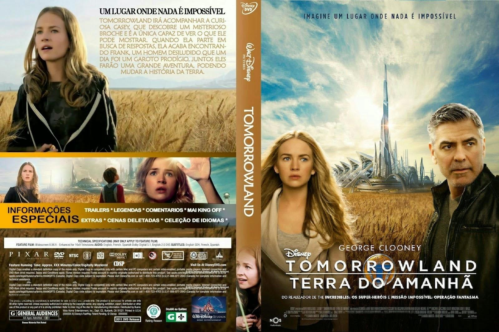 Download Tomorrowland Um Lugar Onde Nada é Impossível BDRip Dual Áudio TOMORROWLAND  TERRA DO AMANHA 01