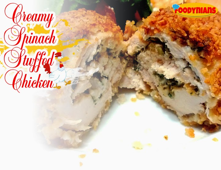 creamy-spinach-stuffed-chicken-quick-chicken-recipes