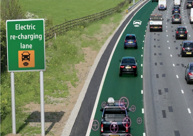 Engineers in England Will Begin Testing Roads That Charge Your Vehicle While You Drive On Them