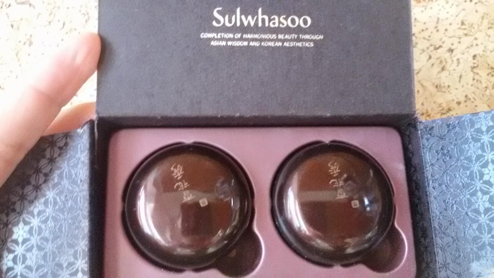 Тональная основа Sulwhasoo Extra Refining Radiance makeup